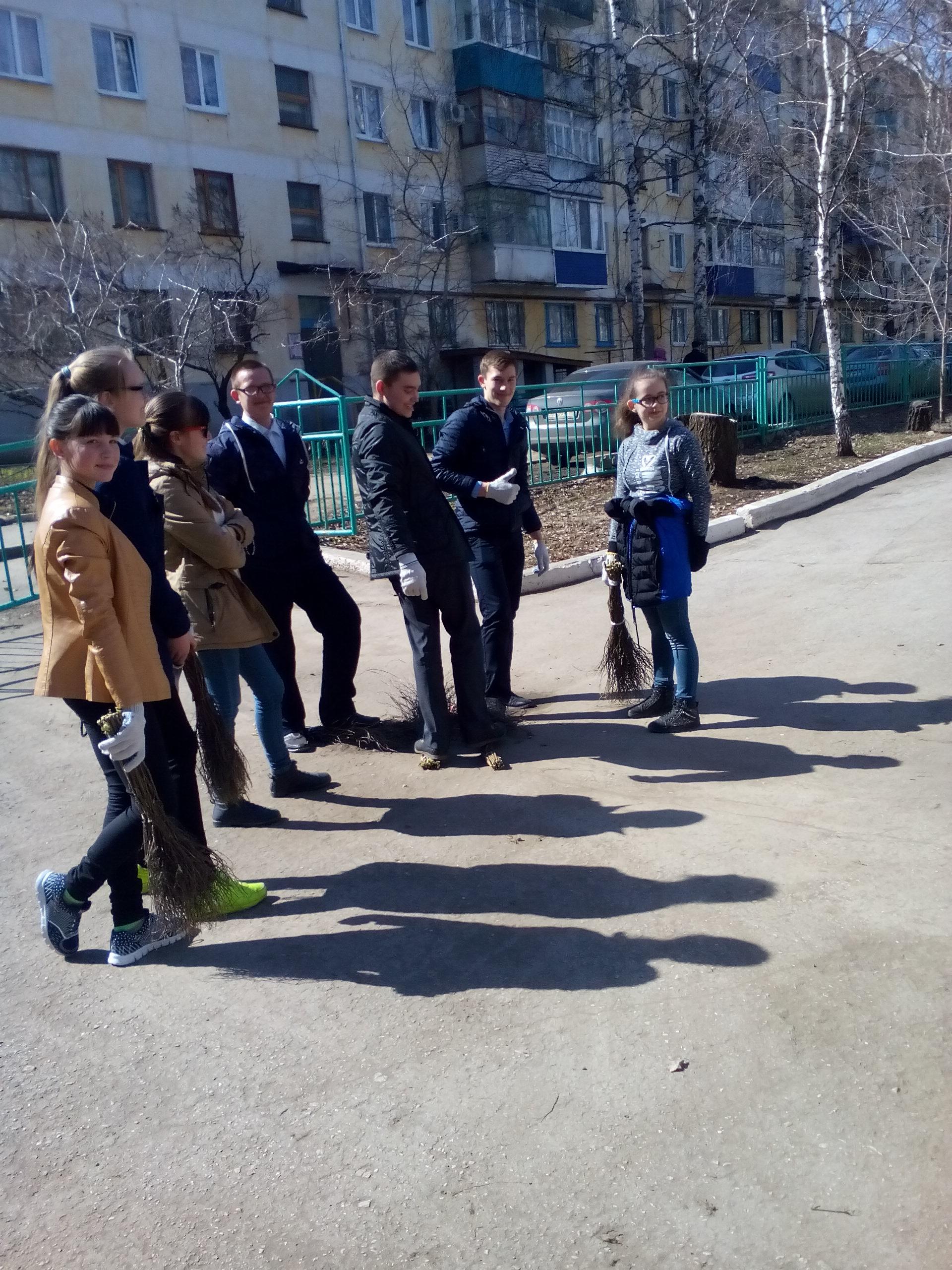 Можно привлекать учащихся общеобразовательной организации к уборке территории